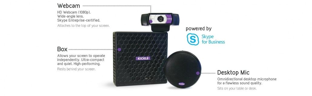 Kickle, la solution de visioconférence