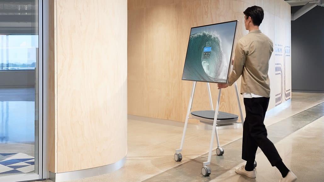 Gagnez en mobilité avec Surface Hub !