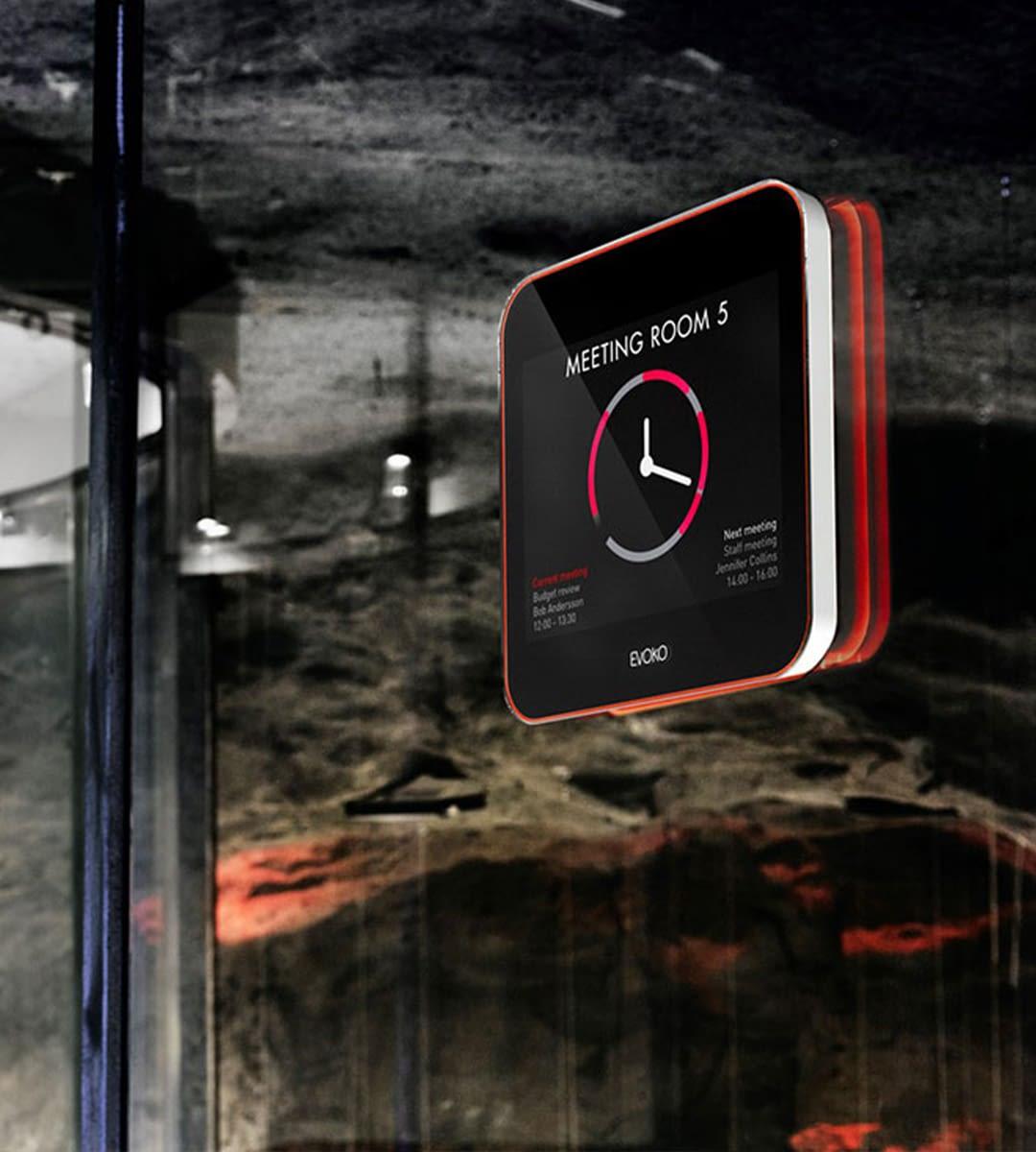 Moniteur à écran tactile de table Evoko Liso 8 - Écran tactile