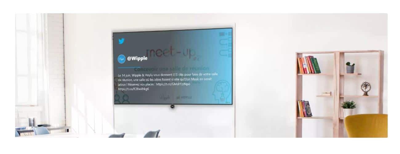 Adoptez l'affichage dynamique dans vos locaux d'entreprise