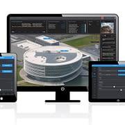Le logiciel représente virtuellement votre bâtiment d'entreprise.