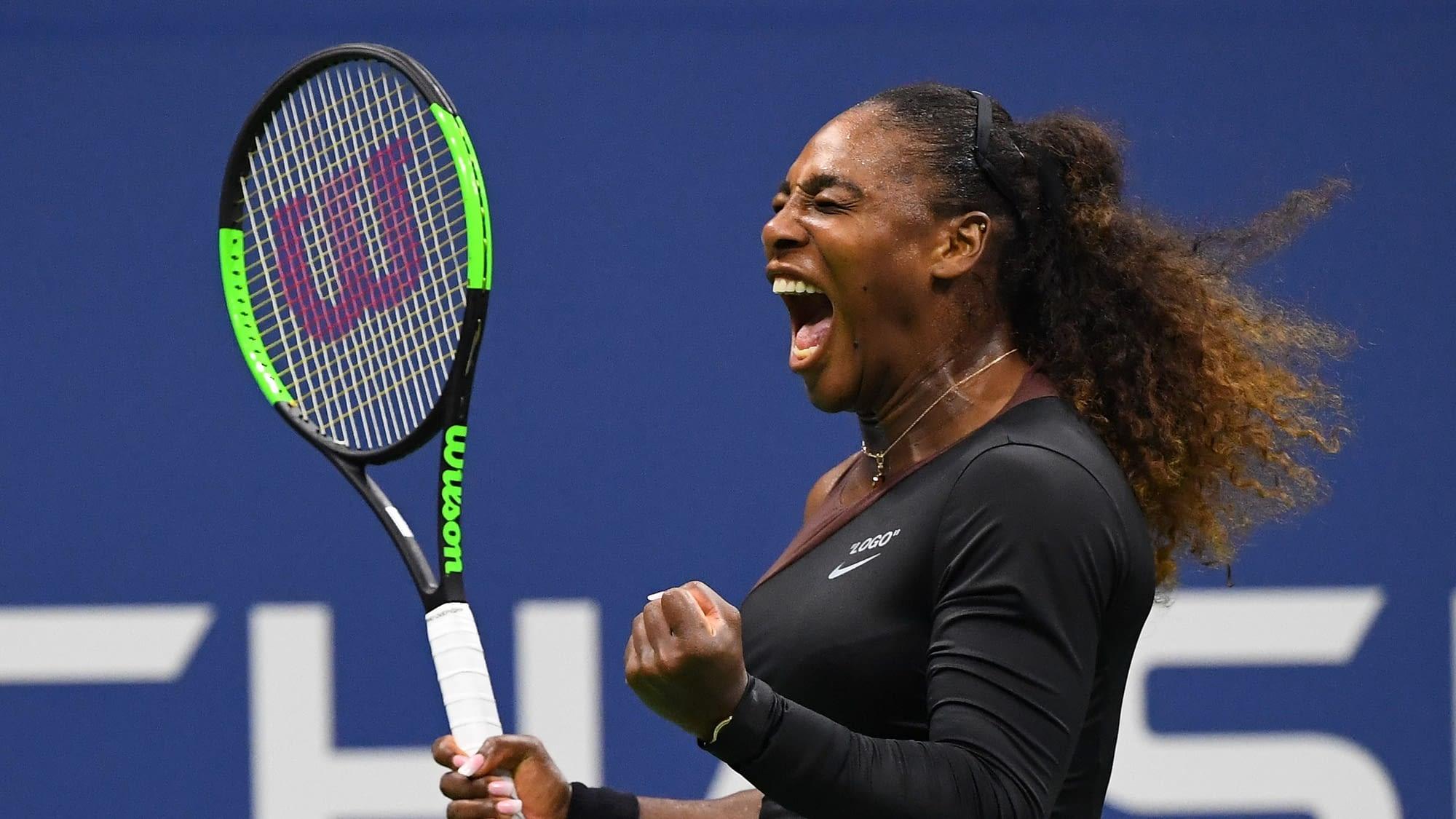 Serena Williams, la force et le courage !