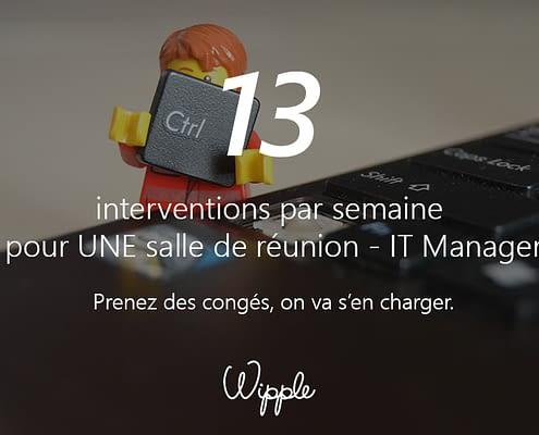Calendrier 13 - Wipple - Les interventions en salles de réunions