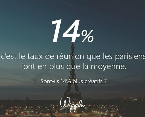 Calendrier 14 - Wipple - Les parisiens en salles de réunions