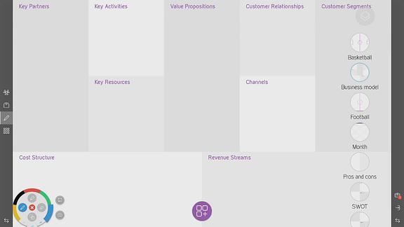 Un exemple de template sur Kickle : le business plan