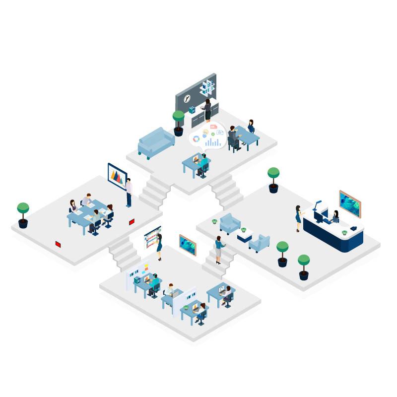 Entreprise : les solutions digitales pour créer une hybrid workplace